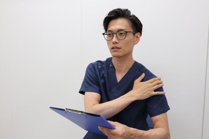 名古屋市肩・腕専門リハビリ整体院_肩の匠_プロフィール写真